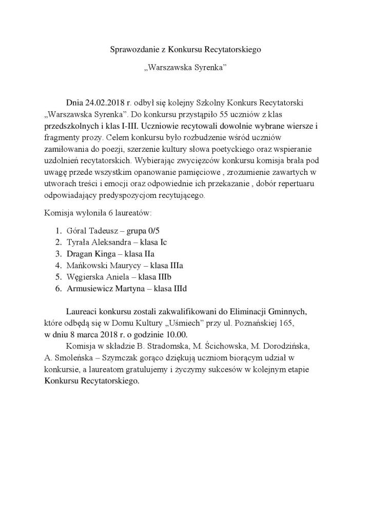 Sprawozdanie z Konkursu Recytatorskiego-page-001